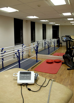 Indoor Gym in use
